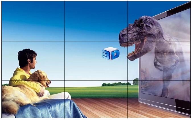 LCD60寸液晶3乘4拼接方案