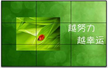 SAMSUNG46寸液晶屏2行X2列大屏幕拼接显示系统技术方案